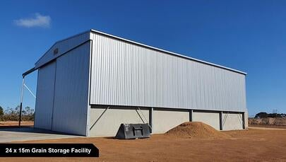 24 x 15m Grain Storage Facility-1