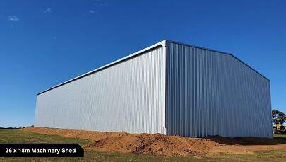36 x 18m Machinery Shed-1