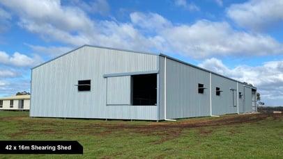 42 x 16m Shearing Shed-1