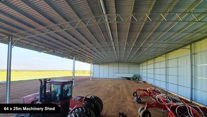 64 x 25 Machinery Shed-1